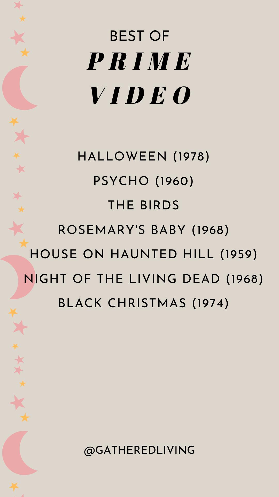 The Very Best of Halloween TV + Movies on Hulu, Netflix