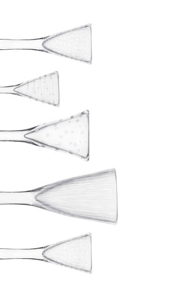 Malin Mena- Glastornet Studioglashytta Snapsglas med gravyr