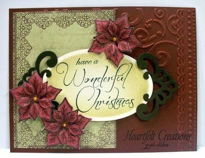 Heartfelt Creations | Red Christmas Poinsettia