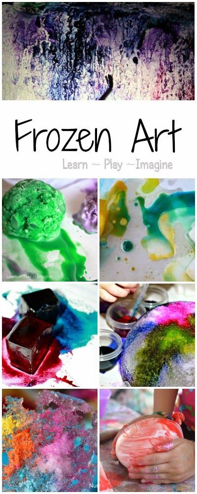 Beat the heat this summer with these 12 ways to paint with ICE!