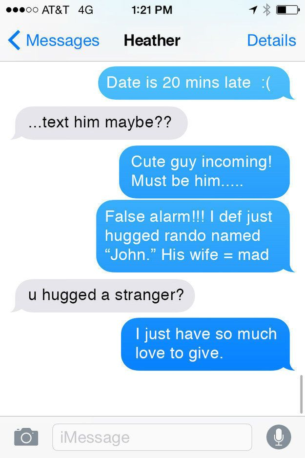 These First Date Texts Are Way Too Desperate - Autocorrect   Guff