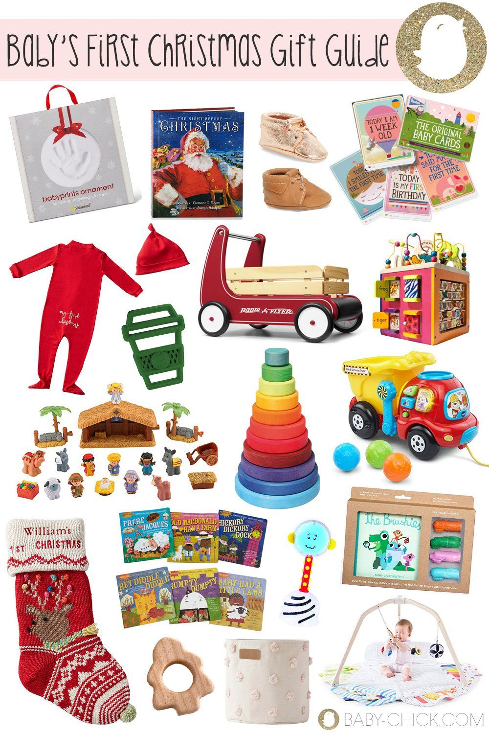 Baby's First Christmas Gift Guide   Baby christmas gifts, Baby's first christmas gifts ...