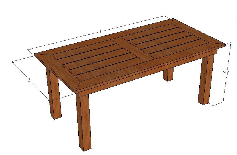 Do It Yourself Home Design: Cedar Patio Table Plans May 22 2013 These Plans Are A