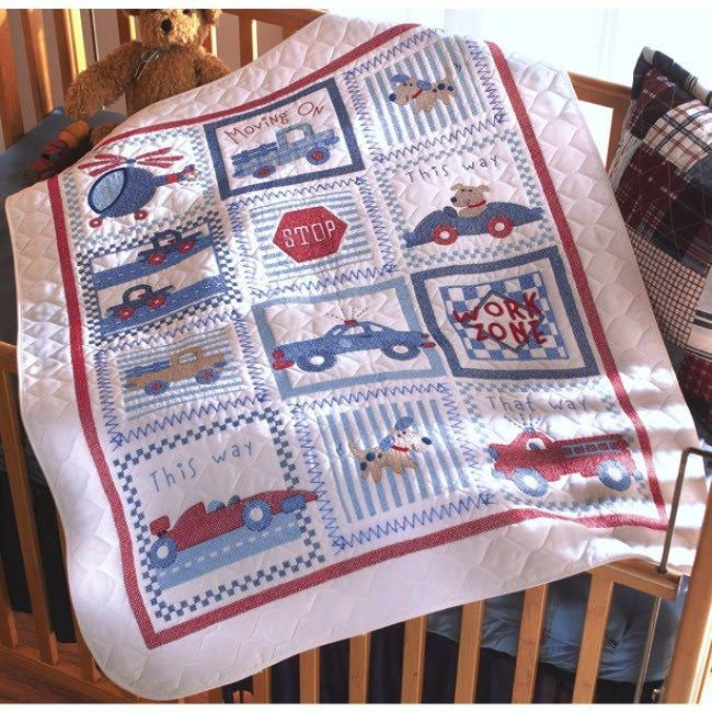 Bucilla Cross Stitch Kits for Baby - Moving On! 34