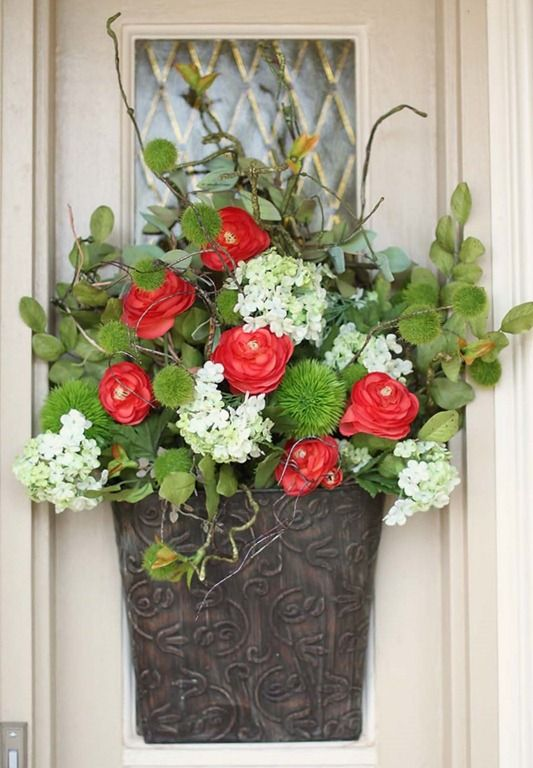 Spring Is In The Air Time For Front Porch Changes Front Door