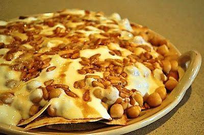 Fatteh tahini chickpeas with yoghurt recipe arabic food recipes forumfinder Choice Image
