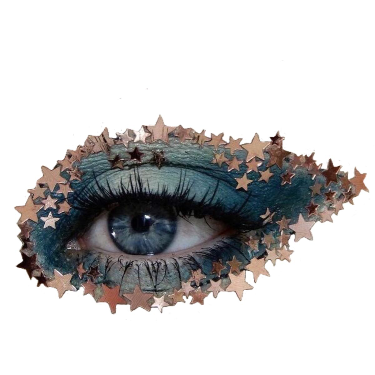 Eye Sticker By Fayrooz In 2021 Aesthetic Objects People Png Blue Aesthetic