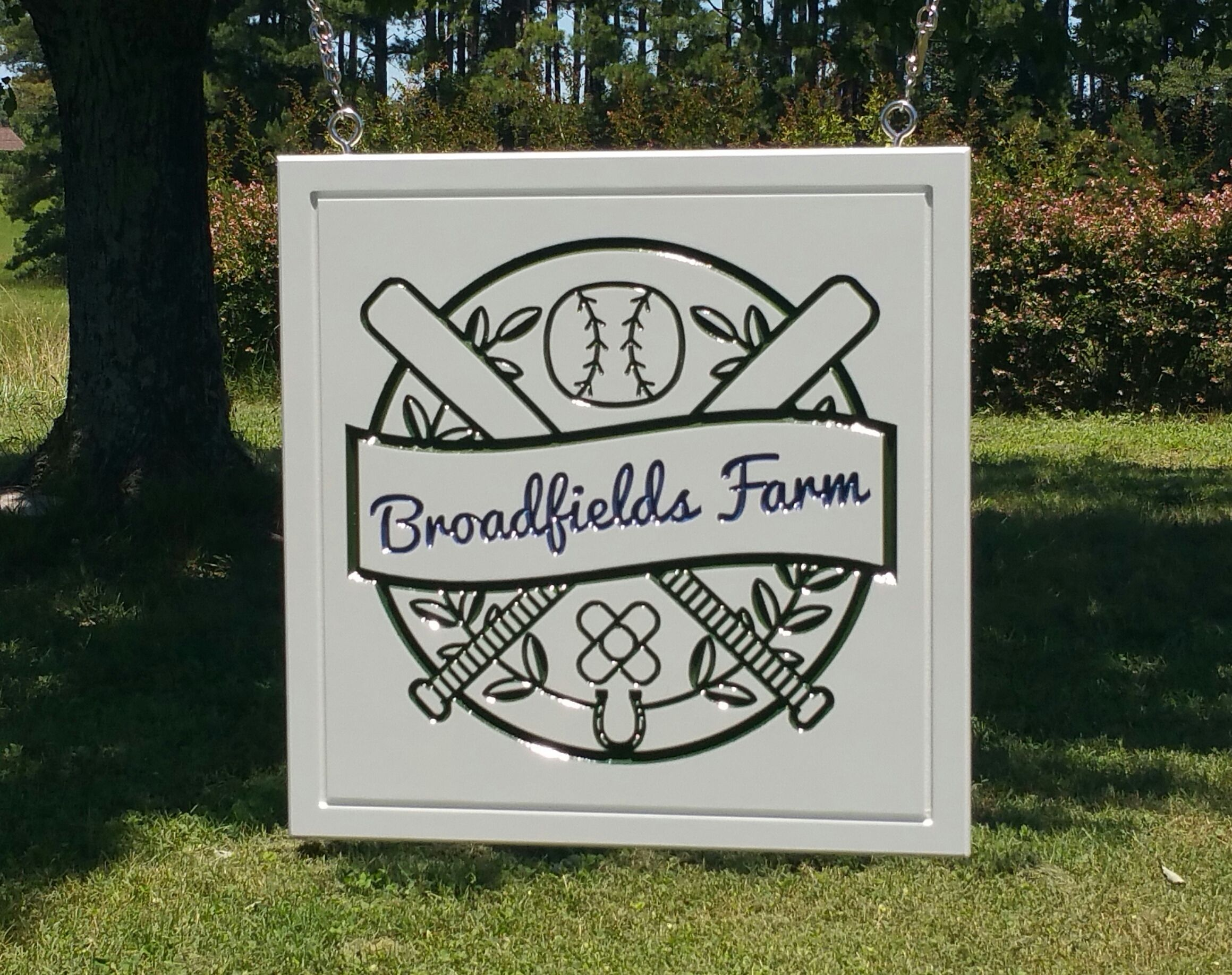 Custom Farm Name Sign Greencottagedesigns Com In 2020 Barn Signs Hanging Signs Cottage Design