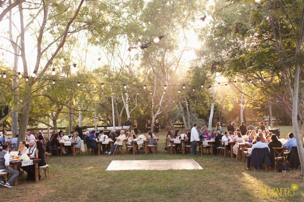 Backyard Wedding Celebration At The Sanctuary Estate In Rancho Santa Fe, San  Diego