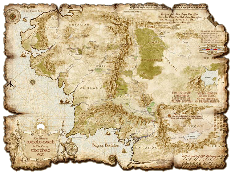 middle earth another cool map