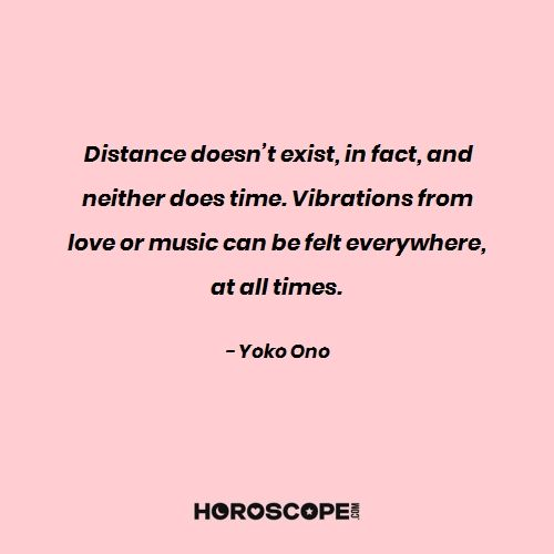 Love quote by Yoko Ono
