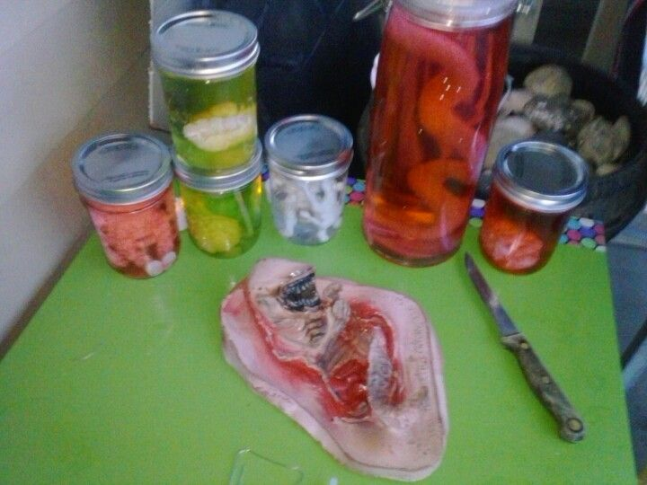 Mad scientist jars made with grow toys jars and tea lights from ...