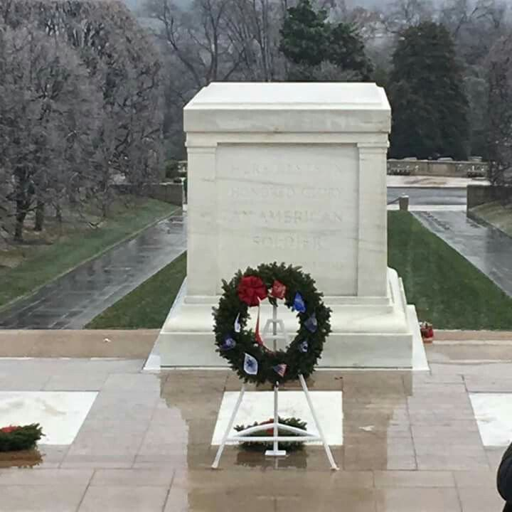 Image result for arlington tomb of the unknown christmas wreaths.