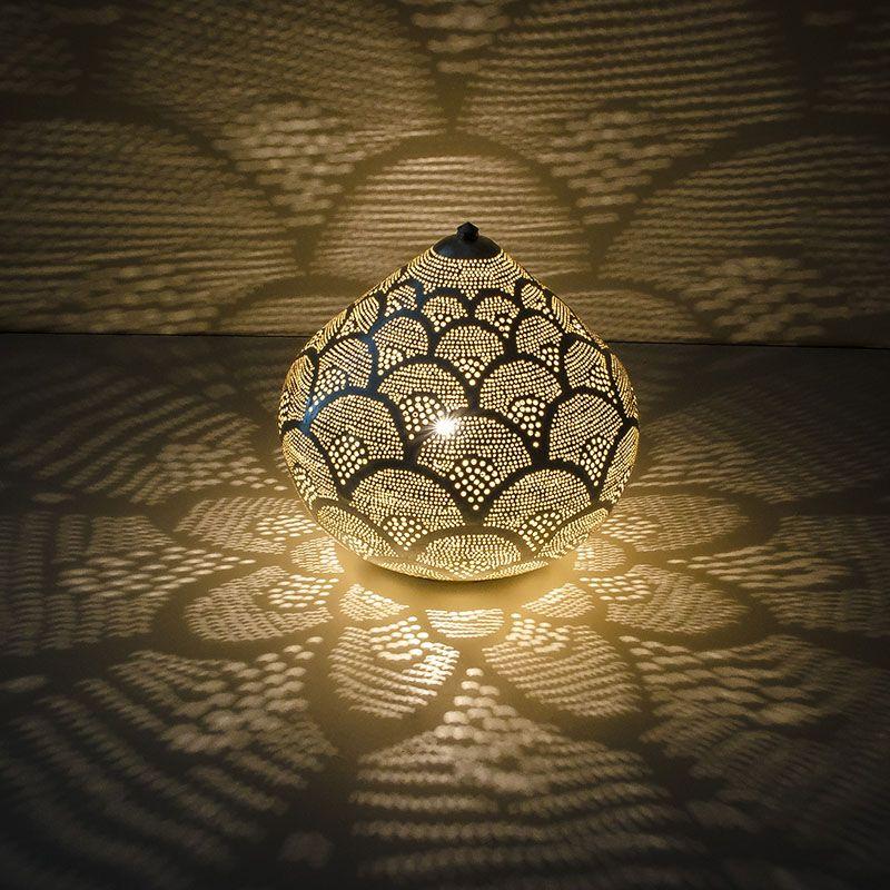 Spannende Lichtblicke Mit Dieser Bodenlampe Handmade In Agypten