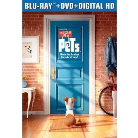 The Secret Life Of Pets Blu Ray Dvd Digital Hd Walmart Com Pets Movie Secret Life Of Pets Summer Movie
