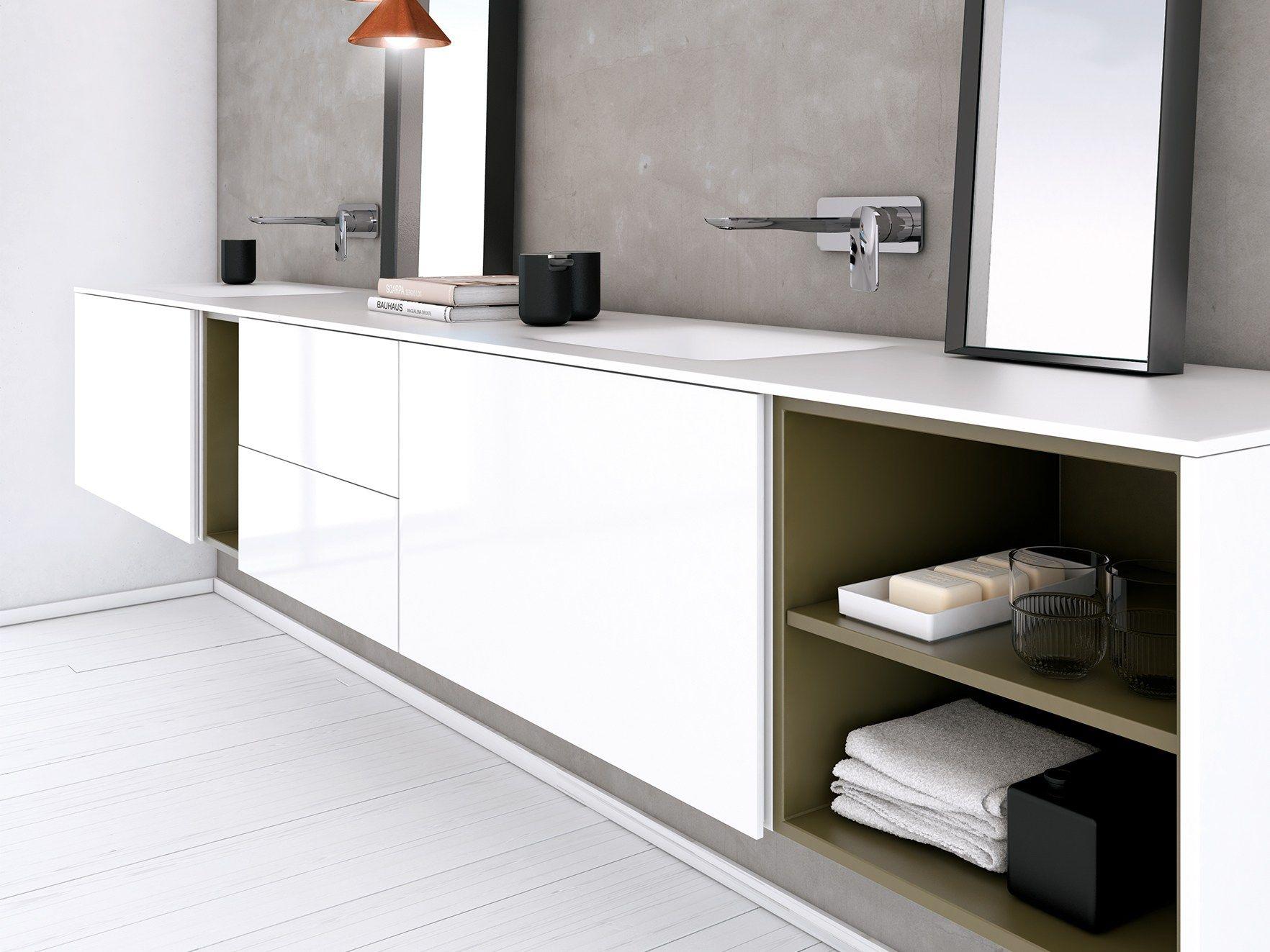 D4 Waschtisch aus Corian® by INBANI Design INBANI   Bäder ...