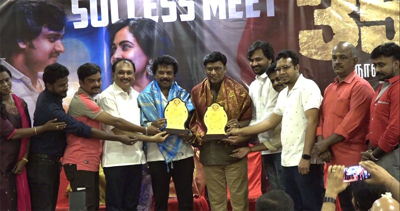 Director Bhagyaraj @ Kombu Movie Success Meet