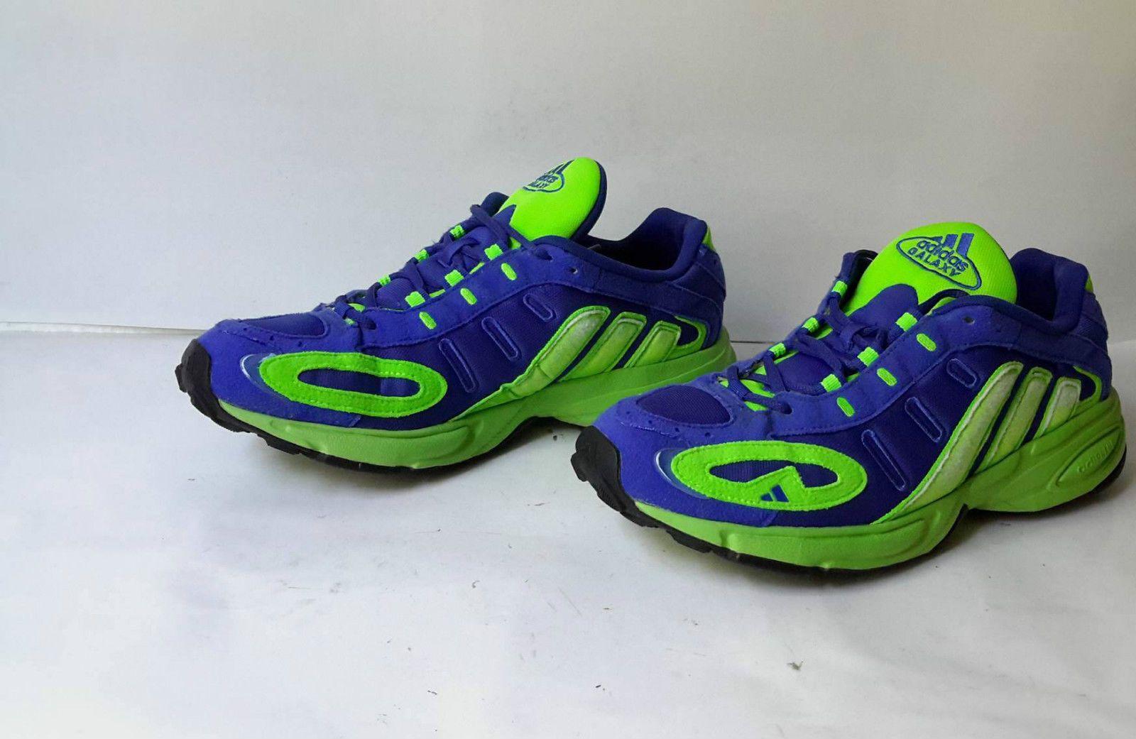 Adidas Galaxy Vintage Schuh Sneaker Herren grün blau jahr