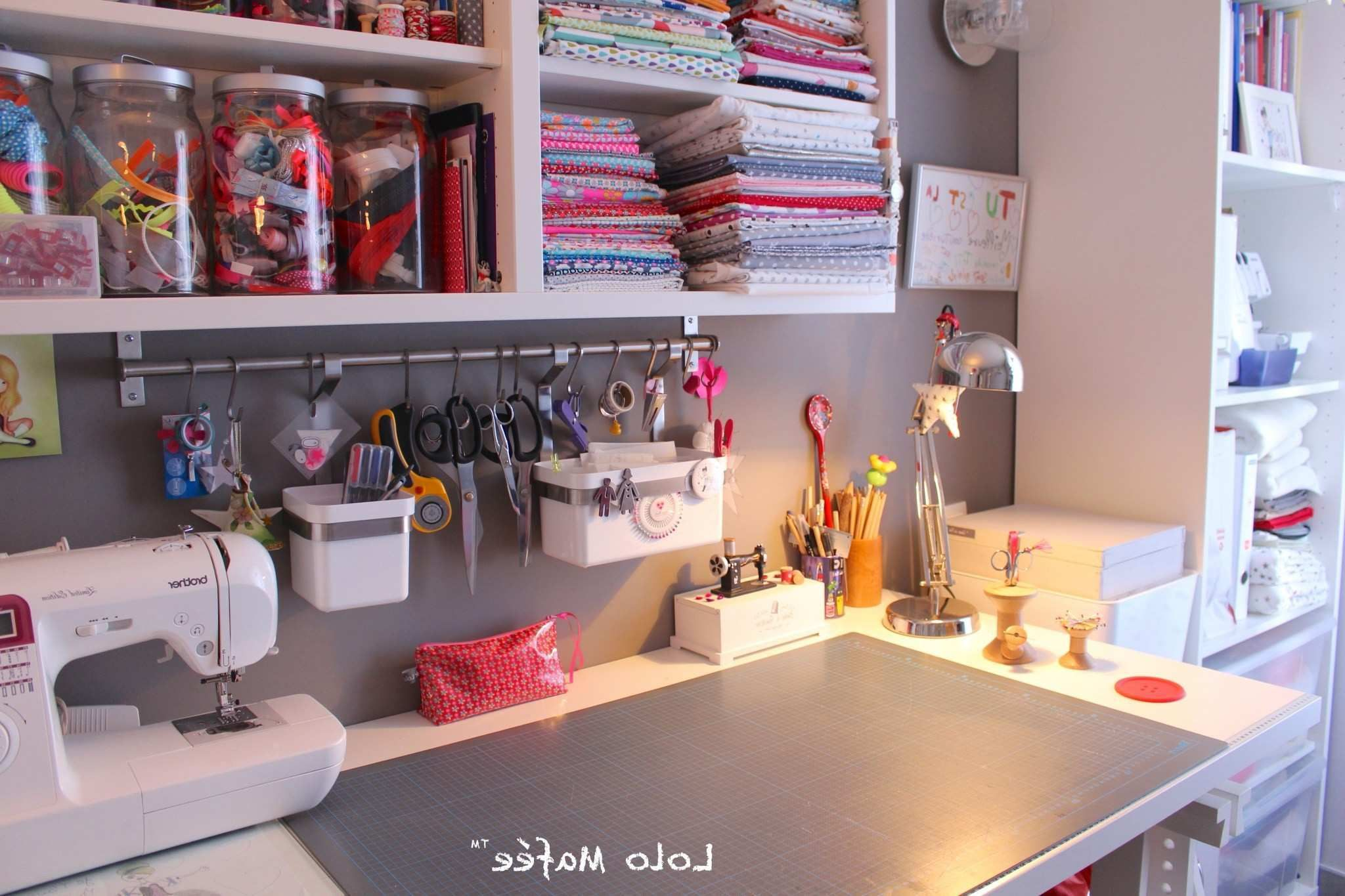 Rangement Atelier Couture Ikea Unique Deco 12 Idees Pour Amenager Son Atelier Couture Dans Un Petit Rangement Atelier Ikea Rangement