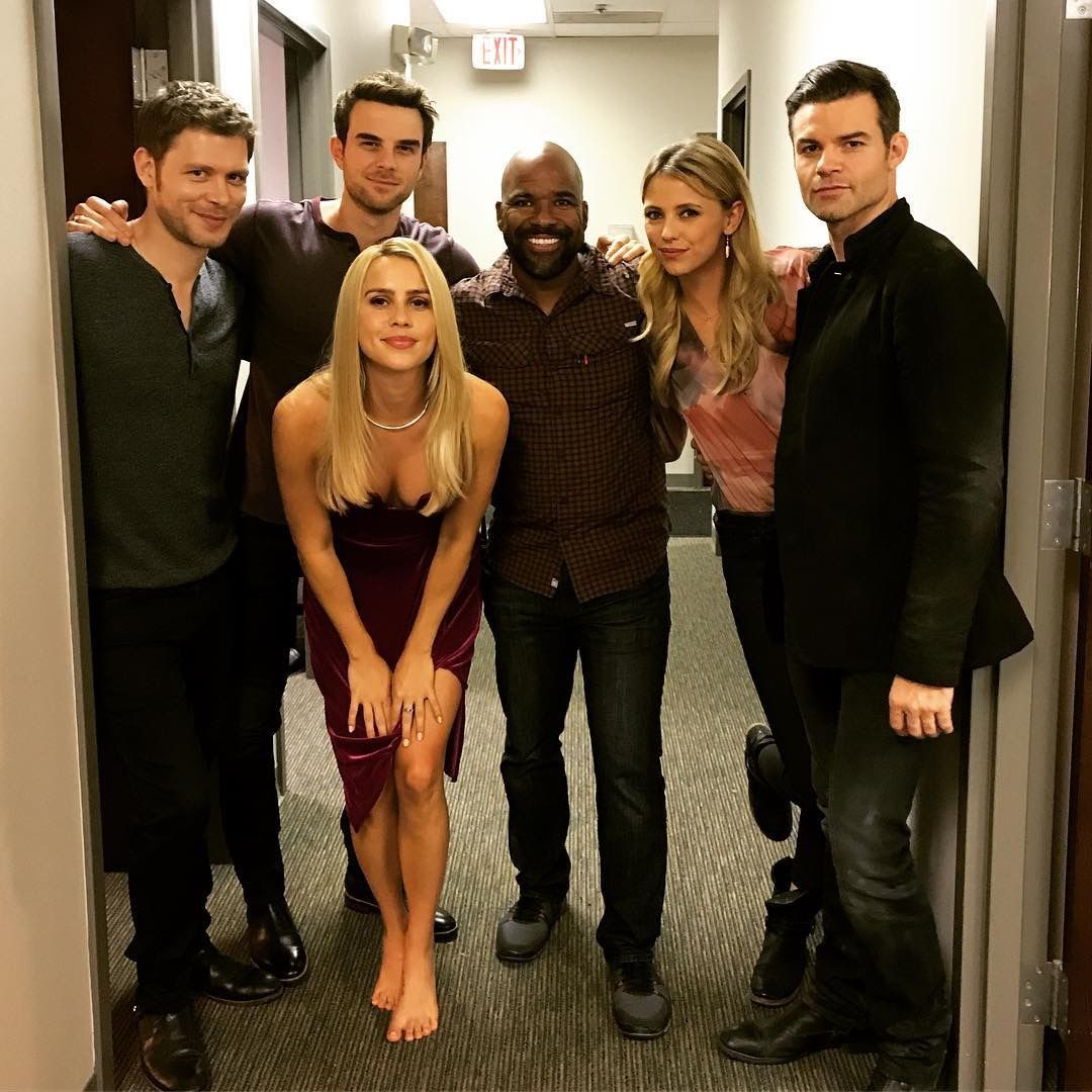 The Family With Images Daniel Gillies Claire Holt Vampire