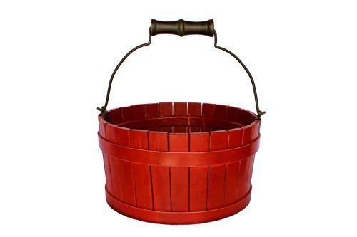Antique Revival Cranston Orchard Bucket, Red Antique Revival http://www.amazon.com/dp/B00KIIKUWC/ref=cm_sw_r_pi_dp_Mz2yvb1FDNG17
