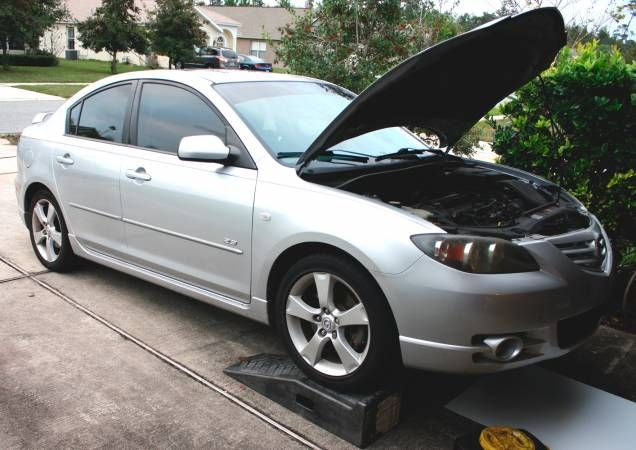 Mazda 3 Oil >> Mazda 3 Oil Filter Change On Ramps Maintinace Mod How To