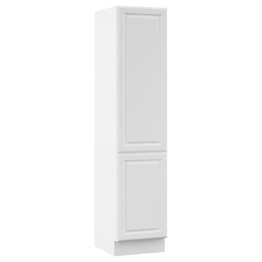 Cambridge 18 in. W x 81 in. H x 21-1/2 in. D 2-Door Bathroom Storage ...