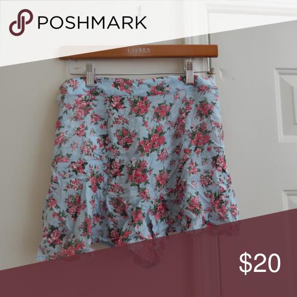 Floral Shorts Floral pattern shorts Forever 21 Shorts