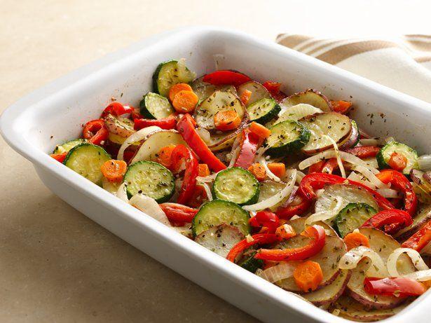 Mixed Vegetable Bake Recipe Vegetable Bake Recipes Baked Veggies Vegetable Recipes