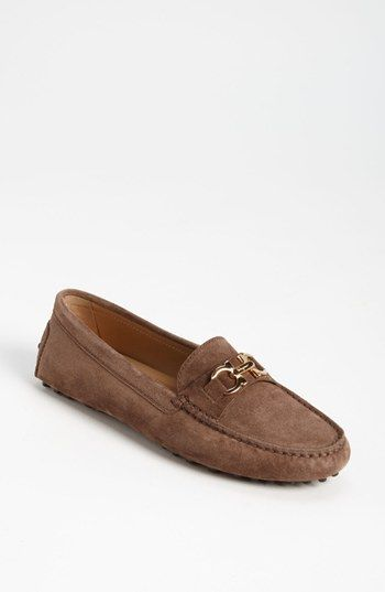 Salvatore Ferragamo Saba Driving Moccasin available at Nordstrom