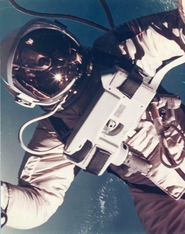 Vintage photographs of NASA space program