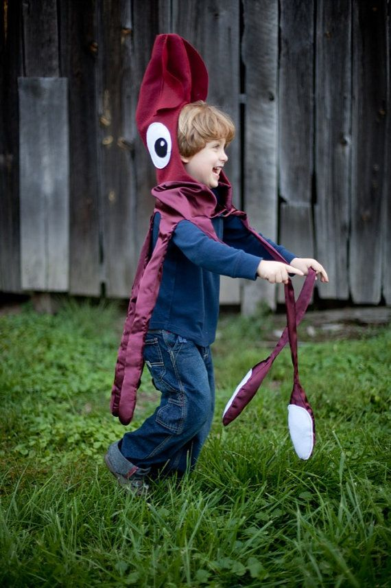 Giant Squid Kraken Octopus kids costume for Halloween & 25 Of The Best Kidsu0027 Halloween Costumes Ever | Pinterest | Giant ...