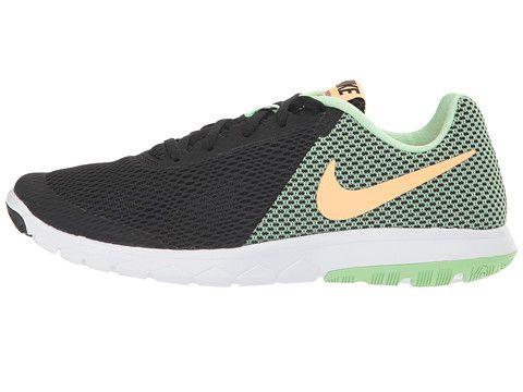 Nike Flex Experience RN 6 Black/Sunset Glow/Fresh Mint/White - zappos
