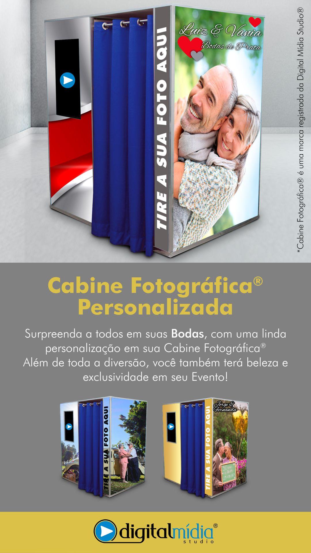Cabine Fotográfica® Personalizada