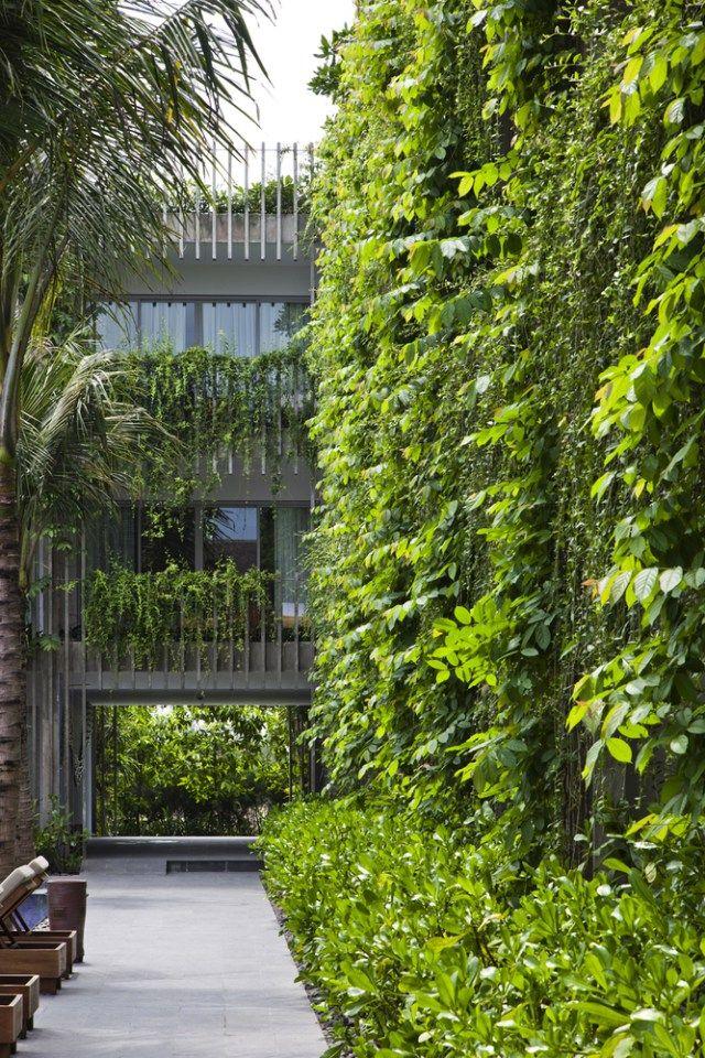 Fachadas vivas vantagens e exemplos Greentopia Apresentação