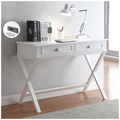 2drawer writing desk create a spacesaving office area for anything from