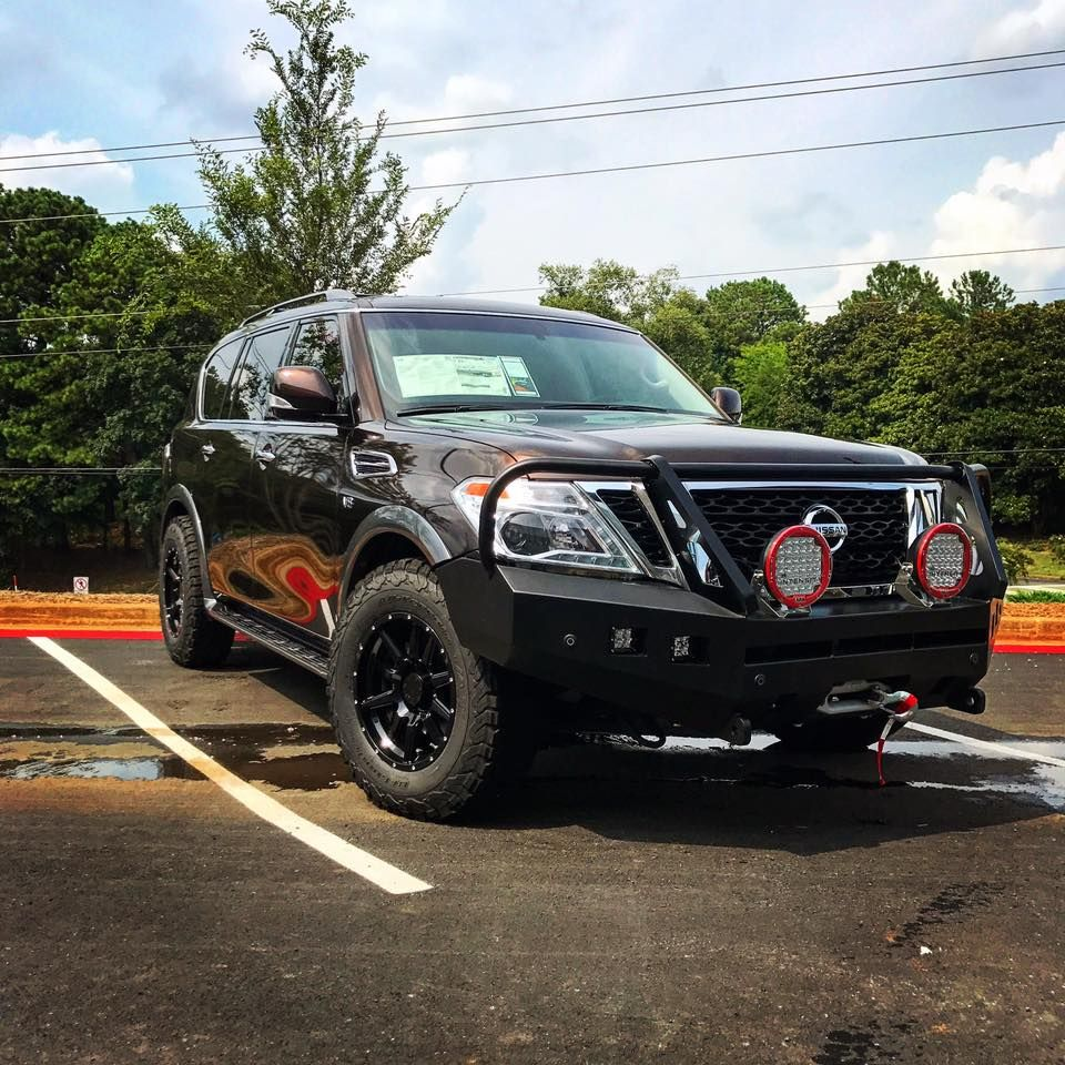 white lifted nissan armada | nissan armada & accessories