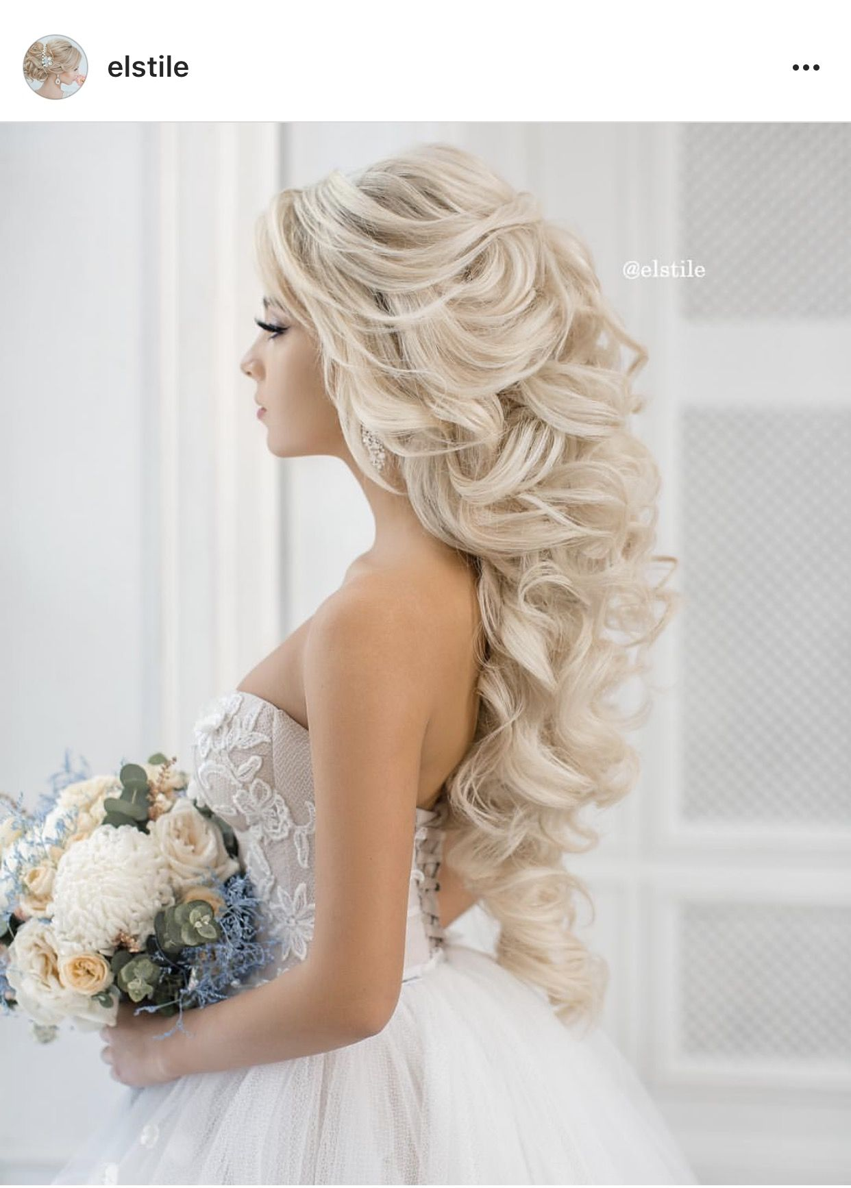 Bruidskapsel | Hair | Pinterest | Hair style, Weddings and Wedding