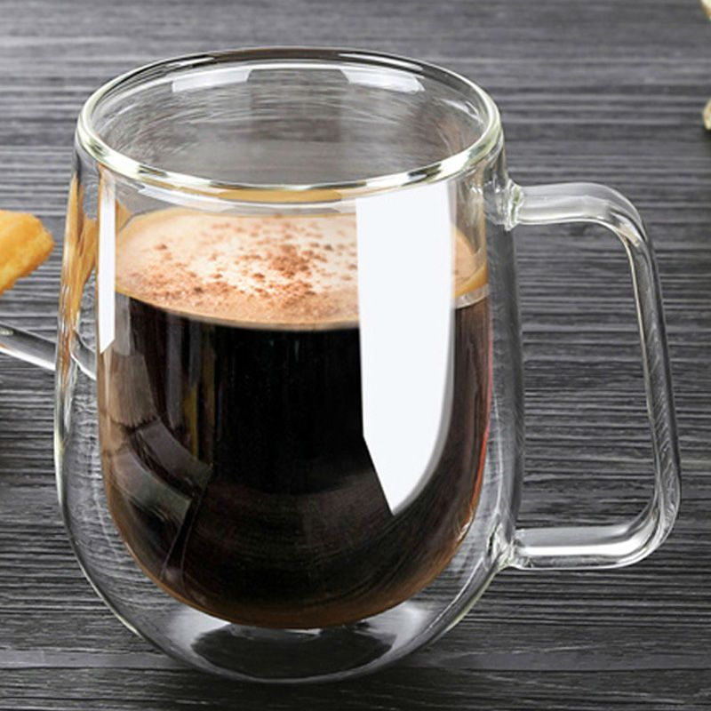 Cheap Double Walled Glass Mug Buy Quality Glass Mug Directly From China Fashion Mug Suppliers Double Wall Glass Coffee Cups Glass Coffee Mugs Coffee Cup Set