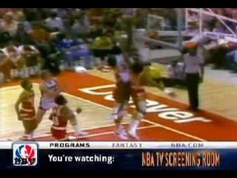 David Thompson :Touch the top of the backboard! #davidthompson