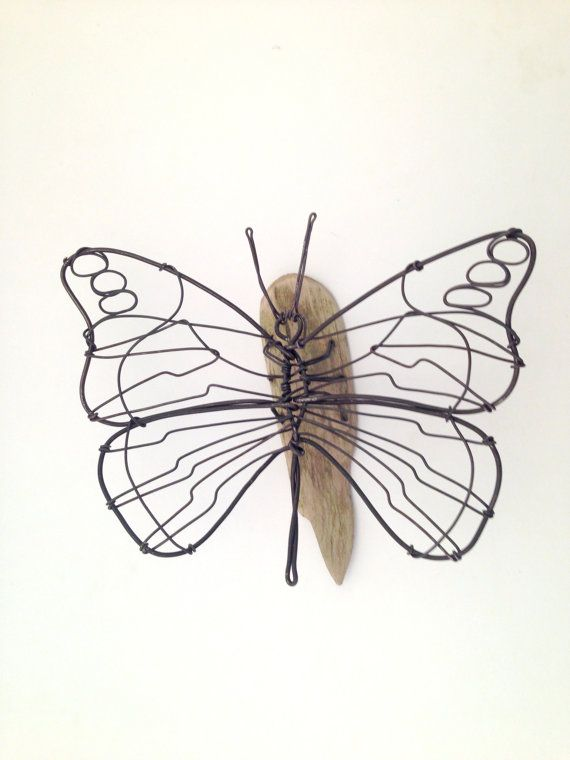 Butterfly Wire Animal Sculpture By Defildefer On Etsy