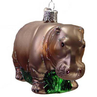 for the tree I want a Hippopotamus for Christmas Hippopotamus