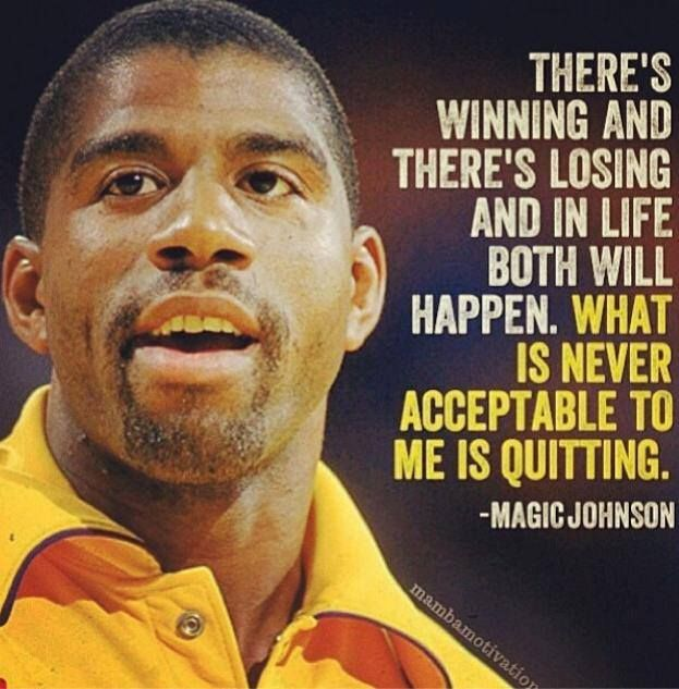 you don/'t have to be magic to be special MAGIC JOHNSON quote poster 24X36