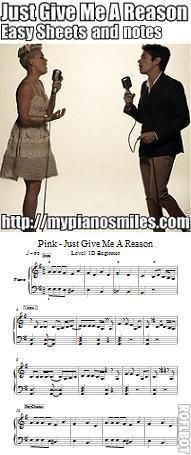 just give me a reason easy notes free sheet music piano sheet music piano music free. Black Bedroom Furniture Sets. Home Design Ideas