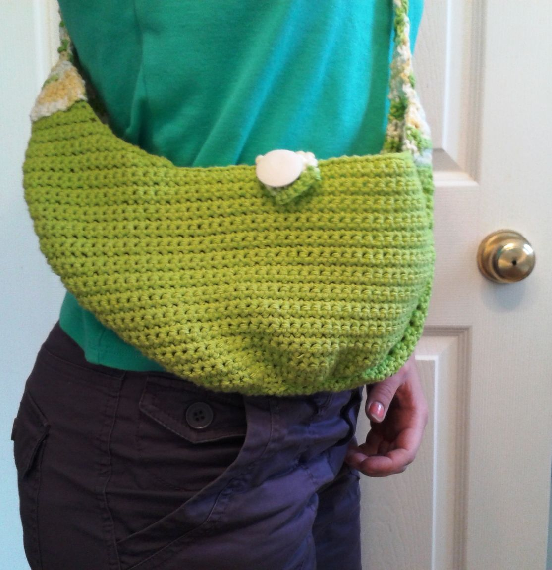 Crochet hobo purse free pattern | Pinterest | Free pattern, Handbag ...