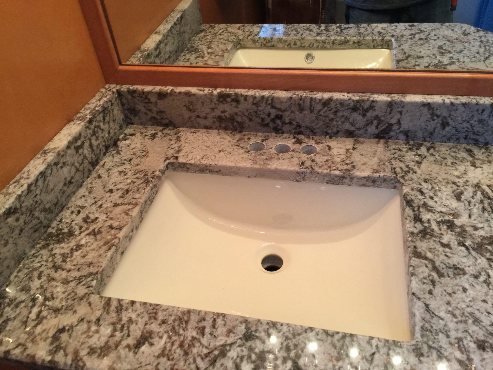 Type Of Job Vanity Top Material Granite Color Bianco Antico