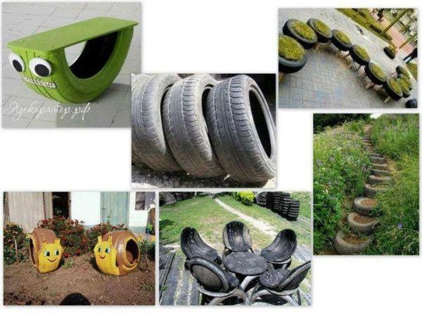kunst gartenbank m bel aus autoreifen recycling ideen f r waldkiga autoreifen garten und. Black Bedroom Furniture Sets. Home Design Ideas