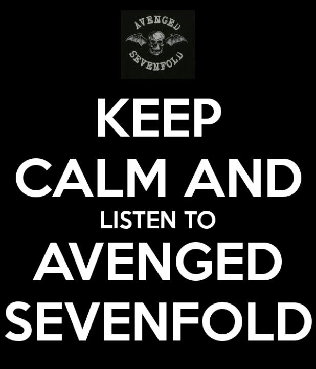 Avenged Sevenfold- Yep! especially on test day!