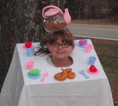 Coolest Homemade Tea Party Halloween Costume Idea Homemade tea - cool halloween costumes ideas