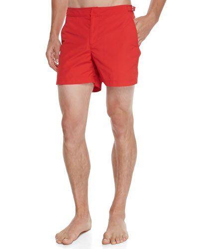 f9955c0e78 ORLEBAR BROWN SETTER SHORT-LENGTH SWIM TRUNKS, RED. #orlebarbrown #cloth #